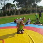 Voula Zygouri - Wrestling lessons - Imagine Peace Youth Camp 2014 (123)