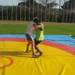 Voula Zygouri - Wrestling lessons - Imagine Peace Youth Camp 2014 (124)