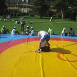 Voula Zygouri - Wrestling lessons - Imagine Peace Youth Camp 2014 (125)