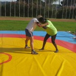 Voula Zygouri - Wrestling lessons - Imagine Peace Youth Camp 2014 (126)