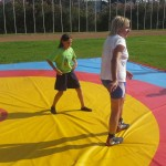 Voula Zygouri - Wrestling lessons - Imagine Peace Youth Camp 2014 (128)
