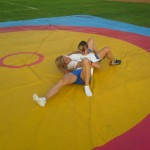 Voula Zygouri - Wrestling lessons - Imagine Peace Youth Camp 2014 (13)