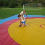 Voula Zygouri - Wrestling lessons - Imagine Peace Youth Camp 2014 (131)