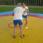 Voula Zygouri - Wrestling lessons - Imagine Peace Youth Camp 2014 (132)