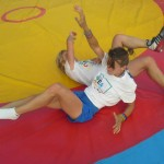 Voula Zygouri - Wrestling lessons - Imagine Peace Youth Camp 2014 (133)