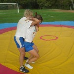 Voula Zygouri - Wrestling lessons - Imagine Peace Youth Camp 2014 (134)