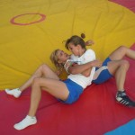 Voula Zygouri - Wrestling lessons - Imagine Peace Youth Camp 2014 (135)