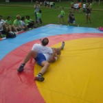 Voula Zygouri - Wrestling lessons - Imagine Peace Youth Camp 2014 (138)