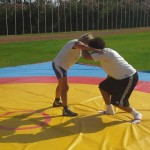 Voula Zygouri - Wrestling lessons - Imagine Peace Youth Camp 2014 (139)