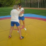 Voula Zygouri - Wrestling lessons - Imagine Peace Youth Camp 2014 (140)
