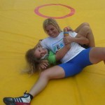 Voula Zygouri - Wrestling lessons - Imagine Peace Youth Camp 2014 (142)