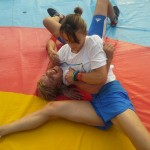 Voula Zygouri - Wrestling lessons - Imagine Peace Youth Camp 2014 (143)