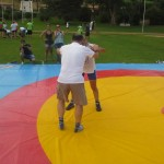 Voula Zygouri - Wrestling lessons - Imagine Peace Youth Camp 2014 (145)