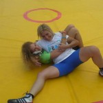 Voula Zygouri - Wrestling lessons - Imagine Peace Youth Camp 2014 (147)