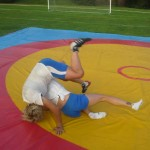 Voula Zygouri - Wrestling lessons - Imagine Peace Youth Camp 2014 (15)