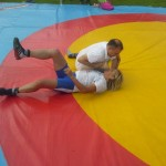 Voula Zygouri - Wrestling lessons - Imagine Peace Youth Camp 2014 (150)