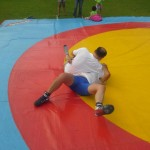 Voula Zygouri - Wrestling lessons - Imagine Peace Youth Camp 2014 (151)