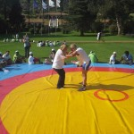 Voula Zygouri - Wrestling lessons - Imagine Peace Youth Camp 2014 (152)