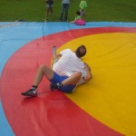 Voula Zygouri - Wrestling lessons - Imagine Peace Youth Camp 2014 (154)