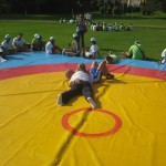Voula Zygouri - Wrestling lessons - Imagine Peace Youth Camp 2014 (155)