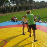 Voula Zygouri - Wrestling lessons - Imagine Peace Youth Camp 2014 (16)