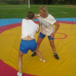 Voula Zygouri - Wrestling lessons - Imagine Peace Youth Camp 2014 (17)