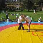 Voula Zygouri - Wrestling lessons - Imagine Peace Youth Camp 2014 (18)