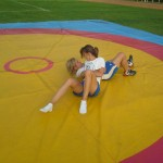 Voula Zygouri - Wrestling lessons - Imagine Peace Youth Camp 2014 (19)