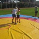 Voula Zygouri - Wrestling lessons - Imagine Peace Youth Camp 2014 (20)