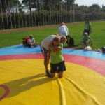 Voula Zygouri - Wrestling lessons - Imagine Peace Youth Camp 2014 (21)