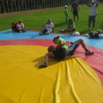 Voula Zygouri - Wrestling lessons - Imagine Peace Youth Camp 2014 (22)