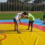 Voula Zygouri - Wrestling lessons - Imagine Peace Youth Camp 2014 (23)