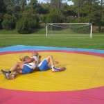 Voula Zygouri - Wrestling lessons - Imagine Peace Youth Camp 2014 (24)