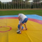 Voula Zygouri - Wrestling lessons - Imagine Peace Youth Camp 2014 (25)