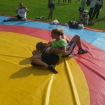 Voula Zygouri - Wrestling lessons - Imagine Peace Youth Camp 2014 (26)