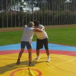 Voula Zygouri - Wrestling lessons - Imagine Peace Youth Camp 2014 (27)