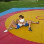Voula Zygouri - Wrestling lessons - Imagine Peace Youth Camp 2014 (28)