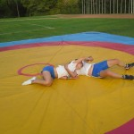 Voula Zygouri - Wrestling lessons - Imagine Peace Youth Camp 2014 (31)