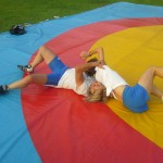 Voula Zygouri - Wrestling lessons - Imagine Peace Youth Camp 2014 (35)