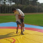 Voula Zygouri - Wrestling lessons - Imagine Peace Youth Camp 2014 (36)