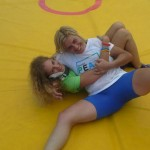 Voula Zygouri - Wrestling lessons - Imagine Peace Youth Camp 2014 (39)
