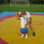 Voula Zygouri - Wrestling lessons - Imagine Peace Youth Camp 2014 (4)