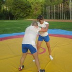 Voula Zygouri - Wrestling lessons - Imagine Peace Youth Camp 2014 (40)