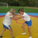 Voula Zygouri - Wrestling lessons - Imagine Peace Youth Camp 2014 (41)
