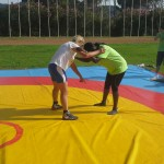 Voula Zygouri - Wrestling lessons - Imagine Peace Youth Camp 2014 (42)