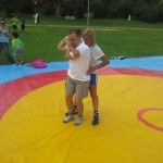 Voula Zygouri - Wrestling lessons - Imagine Peace Youth Camp 2014 (43)