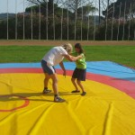 Voula Zygouri - Wrestling lessons - Imagine Peace Youth Camp 2014 (44)