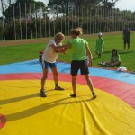 Voula Zygouri - Wrestling lessons - Imagine Peace Youth Camp 2014 (45)