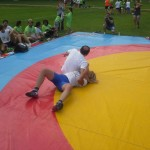 Voula Zygouri - Wrestling lessons - Imagine Peace Youth Camp 2014 (48)