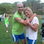 Voula Zygouri - Wrestling lessons - Imagine Peace Youth Camp 2014 (49)